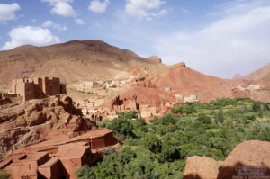 Dades Valley, Salt Caravan, Morocco