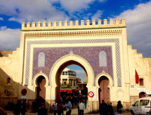 Imperial Cities of Morocco, Fez, Morocco, Blue Gate