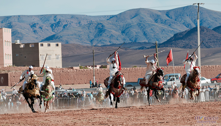 Fantasia, Kelaat M'Gouna, Morocco Tour