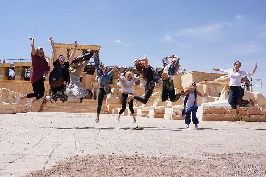 moroccan cultural tour,moroccan group tour, ouarzazat film studio