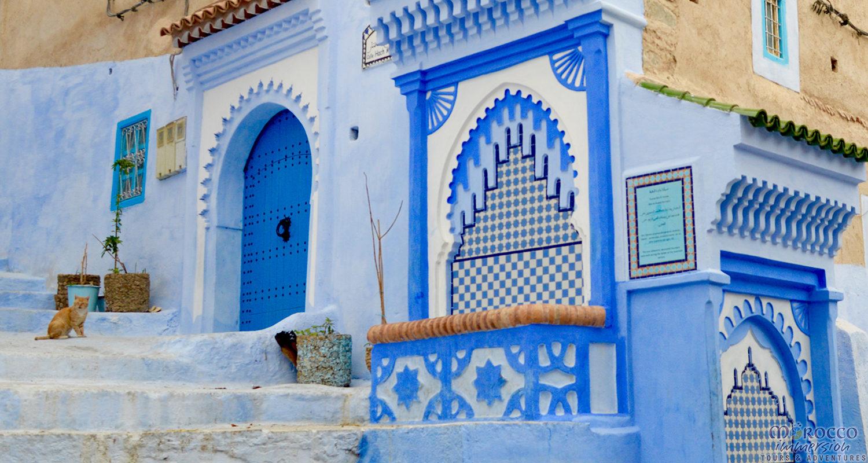 Blue City of Chefchaouen Magical