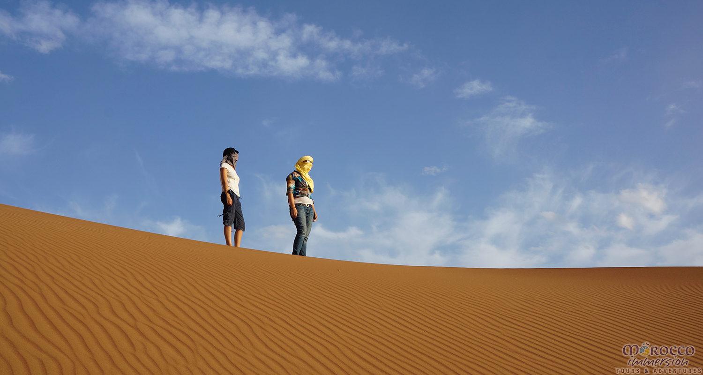 Climbing Dune Desert
