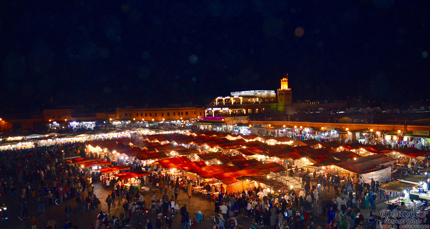Marrakech at Night complete